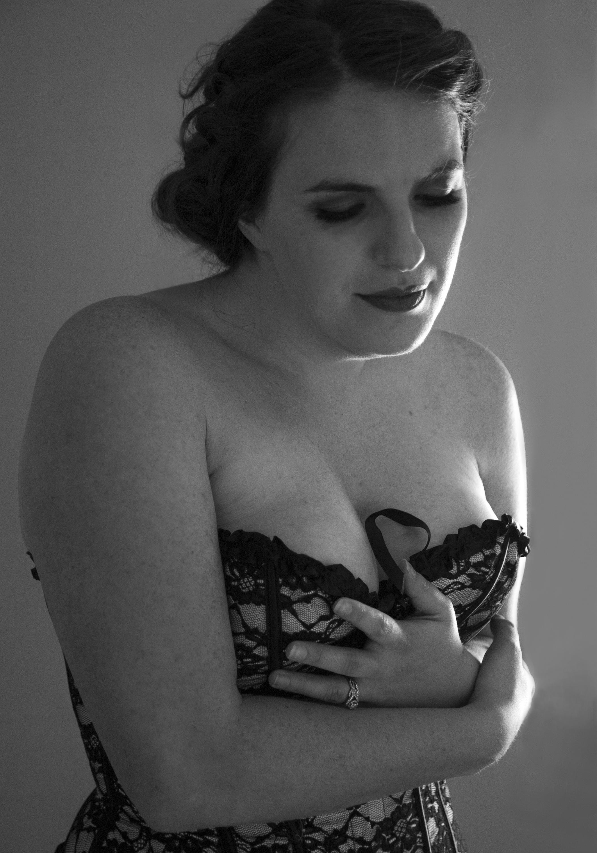 Vintage boudoir portraits
